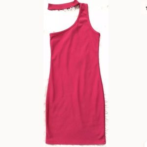 NWT Pull&Bear Hot Pink, Choker Dress